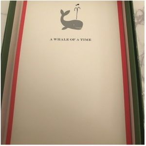 Kate Spade Whale of a Time Invitations new in box